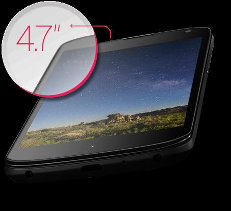 Màn hình của LG Nexus 4 lớn đến 4.7 inch