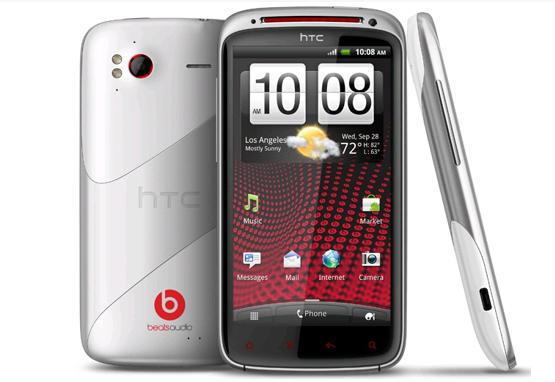 Thiết kế thời trang của HTC Sensation XE