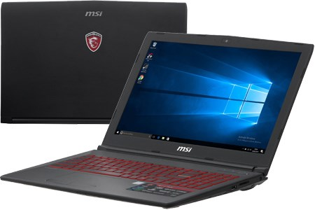 Laptop MSI GL62M 7RDX i7 7700HQ/8GB/1TB/4GB GTX1050/Win10/(1815VN)