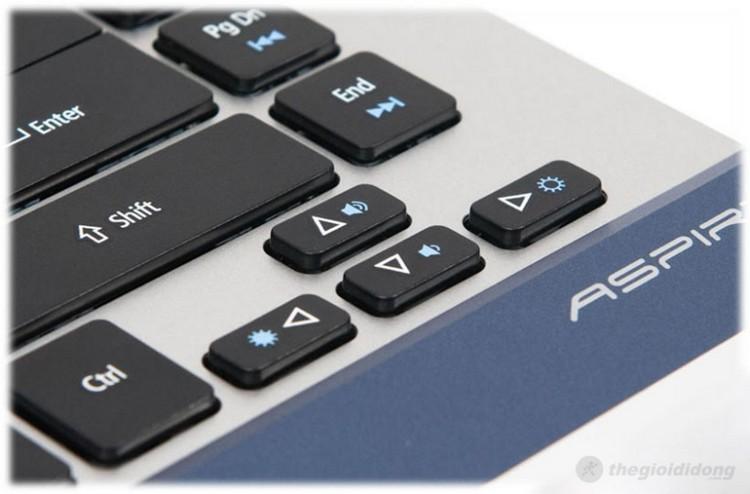 Bàn phím của Acer Aspire 4830