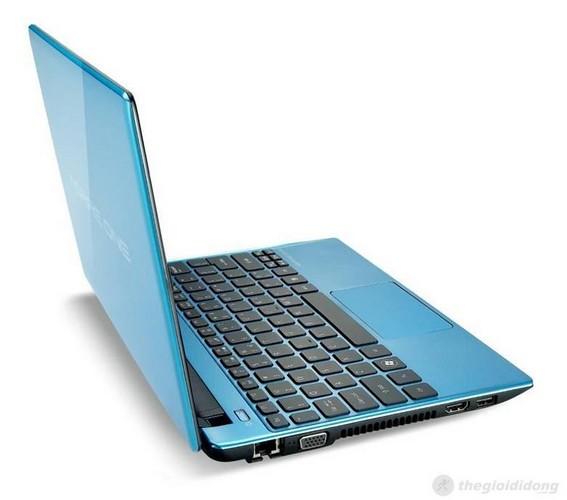 trọng lượng của Acer Aspire One 756 chỉ 1.38kg