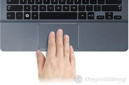Touchpad cho trải nghiệm rất tốt