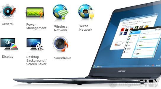 Làm chủ chiếc laptop với các phầm mềm hỗ trợ của Samsung