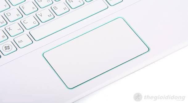 Touchpad với phím chuột liền khối
