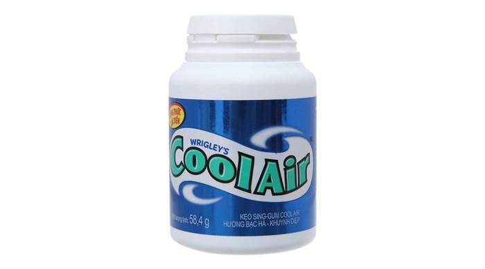 Kẹo cao su Cool Air vị bạc hà khuynh diệp 58.4g