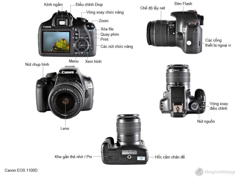 Mô tả chức năng Canon EOS 1100D