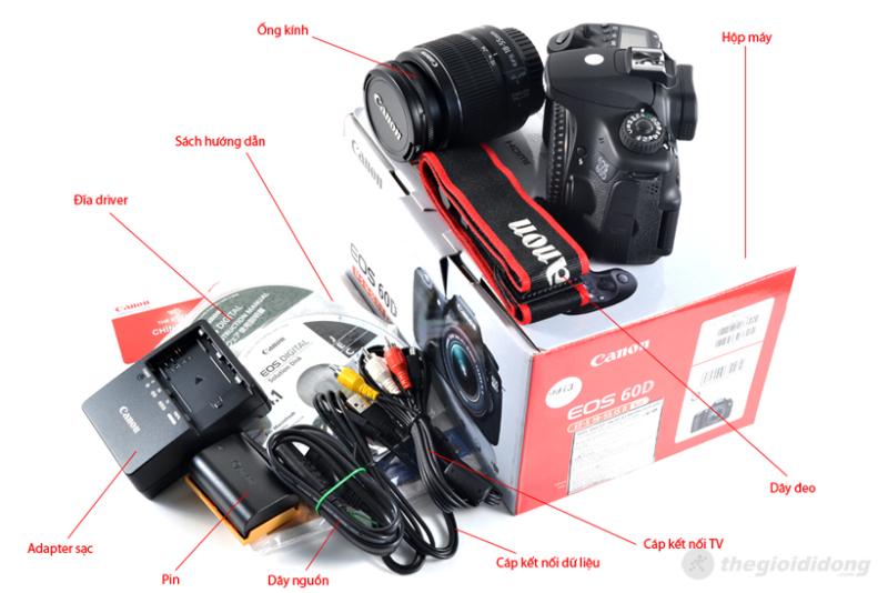 Bộ bán hàng chuẩn của Canon EOS 60D