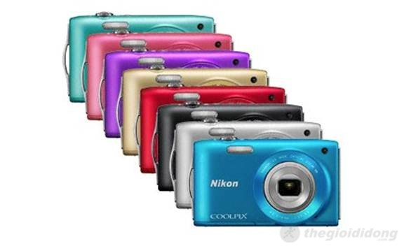 Nikon Coolpix S3300 với 8 màu sắc cho người dùng lựa chọn