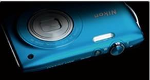 Nikon  Coolpix S3300 được trang bị ống kính zoom quang 6x