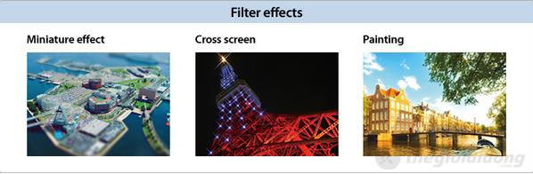 Nikon  Coolpix S3300 với đa dạng hiệu ứng chụp ảnh
