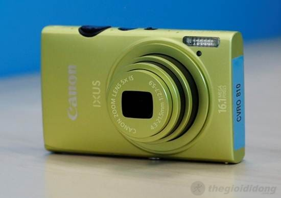 Canon IXUS 125 HS trang bị bộ vi xử lý  tiên tiến DIGIC 5