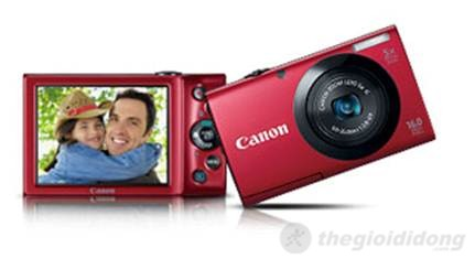 Canon  PowerShot A3400 IS màn hình cảm ứng 3.0 inch