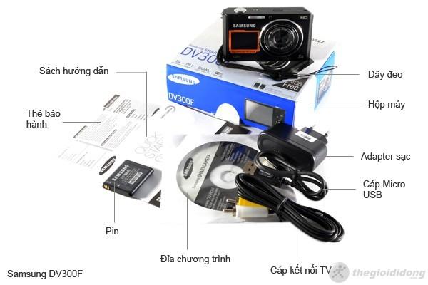 Bộ bán hàng chuẩn của Samsung DV300F