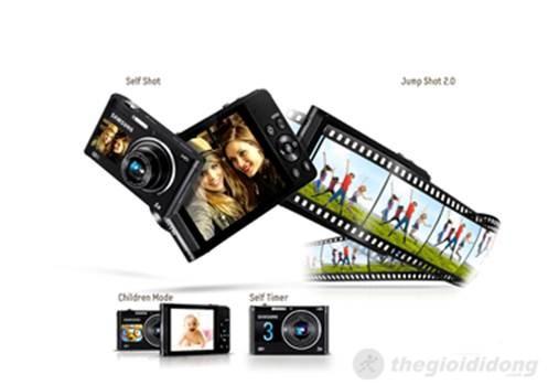 Đa dạng chế độ chụp hữu  ích với màn hình phía trước