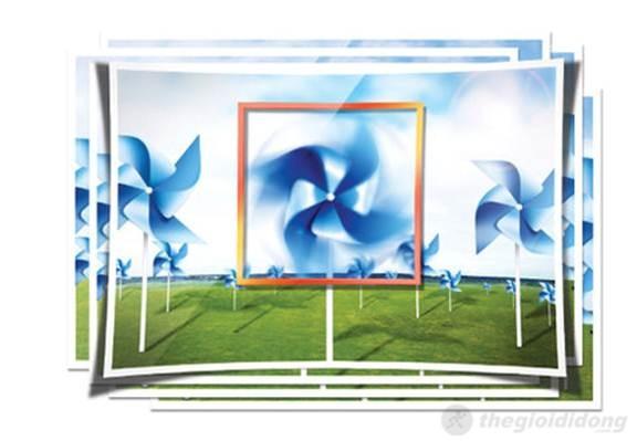 Với hiệu ứng Motion Photo giúp 1 chong  chóng vẫn liên tục xoay trong tấm ảnh