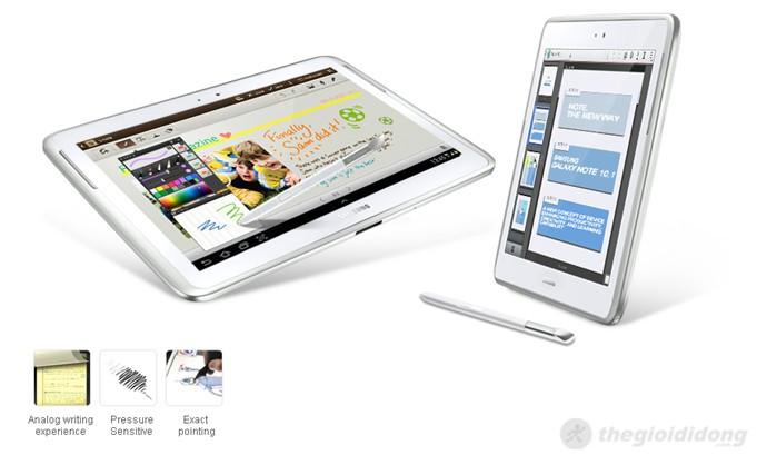 Samsung Galaxy Note 10.1 với bút cảm ứng cho hiệu quả công việc cao nhất