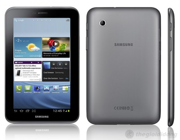 Samsung Galaxy Tab 2 7.0, máy tính bảng 7inch của Samsung