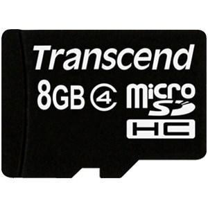 Thẻ nhớ Micro SD 8 GB Transcend Class 4