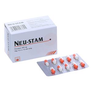 Thuốc Neu-Stam 400mg hộp 100 viên