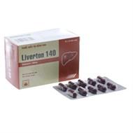 Thuốc giải độc gan Liverton 140mg