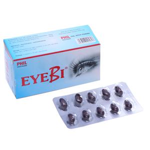 Thuốc hỗ trợ điều trị, cải thiện thị lực Eyebi hộp 30 viên