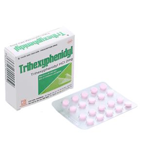 Thuốc trị Parkinson Trihexyphenidyl 2mg