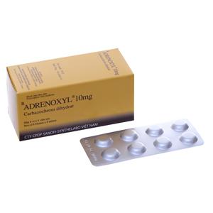Thuốc cầm máu Adrenoxyl 10mg 64 viên