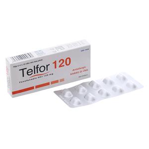 Thuốc Telfor 120mg hộp 20 viên