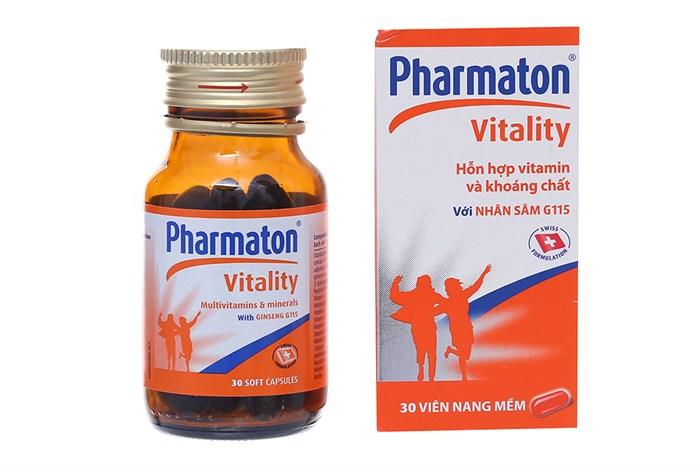 Thuốc bổ sung vitamin và khoáng chất Pharmaton 30 viên