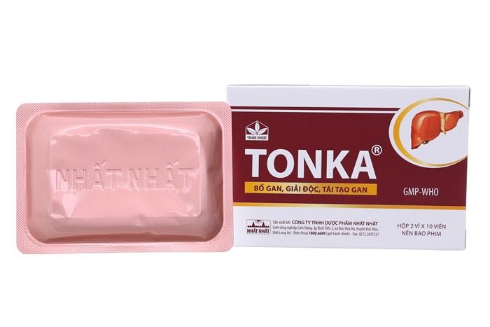 Thuốc giải độc gan Tonka