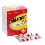 Thuốc trị cảm cúm, hạ sốt Coldacmin Flu