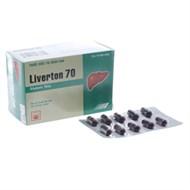 Thuốc trị bệnh gan Liverton 70mg 100 viên