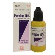 Dung dịch sát trùng Povidine 10% 90ml