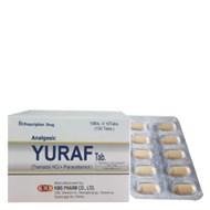 Thuốc Yuraf Tab hộp 100 viên