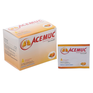 Thuốc Cốm Acemuc (100g) Chữa Bệnh Gì? Hiệu Quả Không? Mua Ở Đâu?