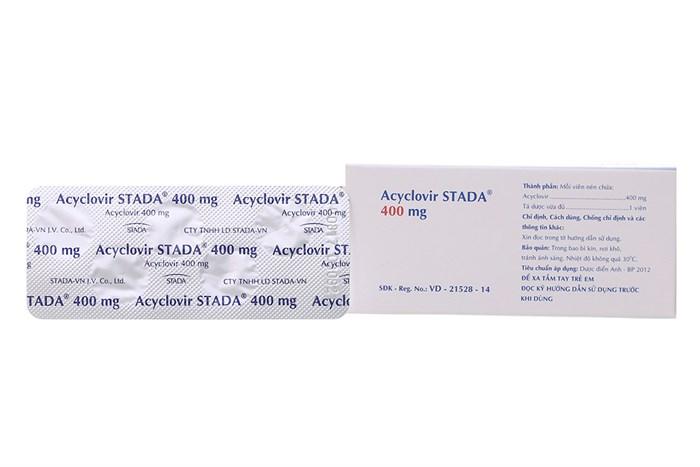 aciclovir tablets 400 mg