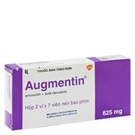 Thuốc kháng sinh Augmentin...