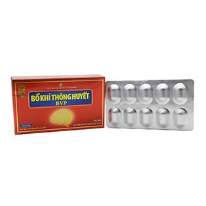 Thuốc tăng cường lưu thông khí huyết Bổ Khí Thông Huyết BVP 30 viên