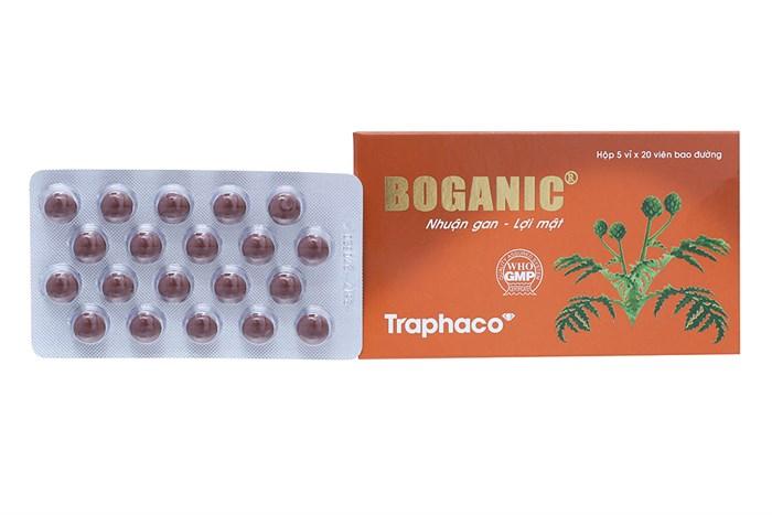 Thuốc giải độc gan Boganic 100 viên bao đường