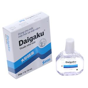Thuốc nhỏ mắt Daigaku chai 15ml