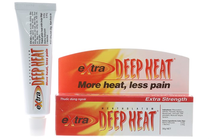 Kem bôi giảm đau Deep Heat Extra 30mg