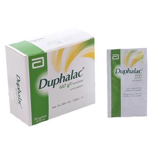 Thuốc Duphalac 667g/l hộp 20 gói