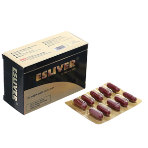 Thuốc Esliver hộp 50 viên