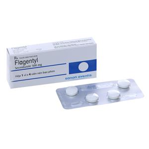 Thuốc kháng nấm Flagentyl 500mg hộp 4 viên