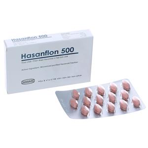 Thuốc Hasanflon 500 hộp 30...