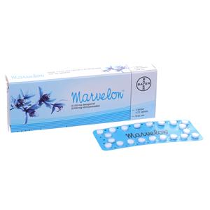 Thuốc tránh thai Marvelon hộp 21 viên