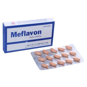 Thuốc Meflavon 500mg hộp 30 viên
