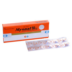 Thuốc Myonal 50mg hộp 30 viên