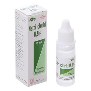 Thuốc nhỏ mắt Natri Clorid 0.9%