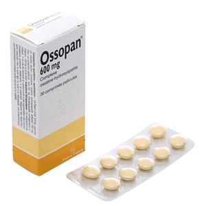 Thuốc bổ sung canxi Ossopan 600mg 30 viên